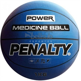 Bola Medicine Ball 1kg - Penalty - Bola Medicine Ball 1kg Penalty