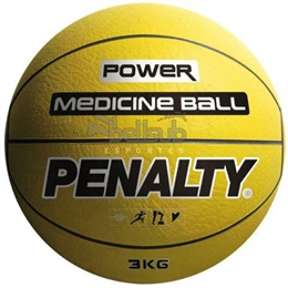 Bola Medicine Ball 3kg - Penalty - Bola Medicine Ball 3kg - Penalty