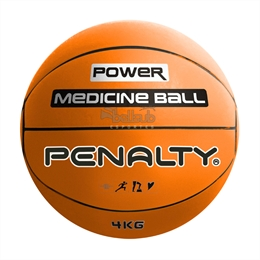 Bola Medicine Ball 4kg - Penalty - Bola Medicine Ball 4kg - Penalty