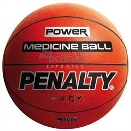 Bola Medicine Ball 5kg - Penalty - Bola Medicine Ball 5kg - Penalty